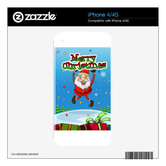 Christmas Decal For The iPhone 4S