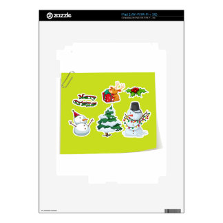 Christmas Decals For The iPad 2