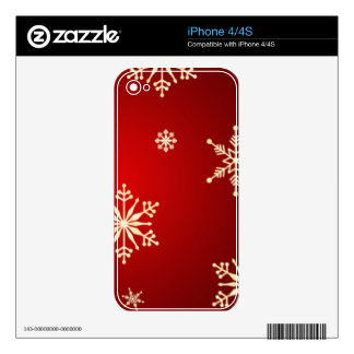 christmas decals for the iPhone 4S