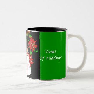 Christmas/December Green Wedding Shower Mug