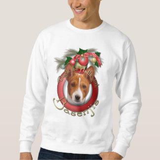 Christmas - Deck the Halls - Basenjis Sweatshirt