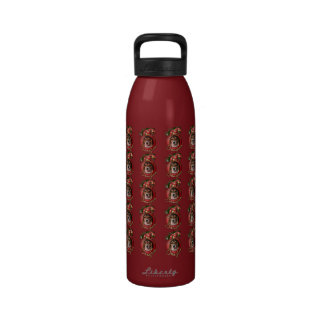 Christmas - Deck the Halls - Beagles Water Bottles
