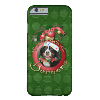 Christmas - Deck the Halls - Berners Barely There iPhone 6 Case