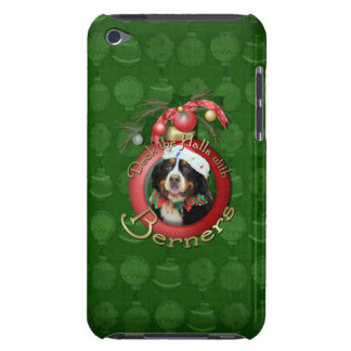 Christmas - Deck the Halls - Berners Barely There iPod Case