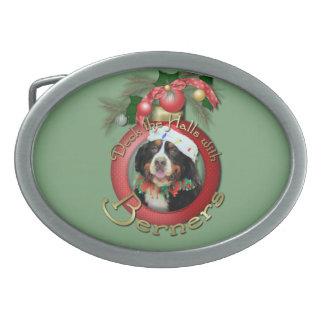 Christmas - Deck the Halls - Berners Belt Buckle