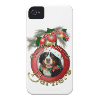 Christmas - Deck the Halls - Berners iPhone 4 Cover