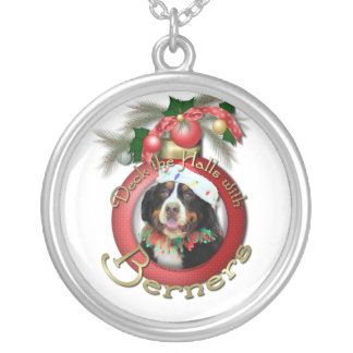 Christmas - Deck the Halls - Berners Silver Plated Necklace