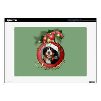Christmas - Deck the Halls - Berners Skin For Laptop