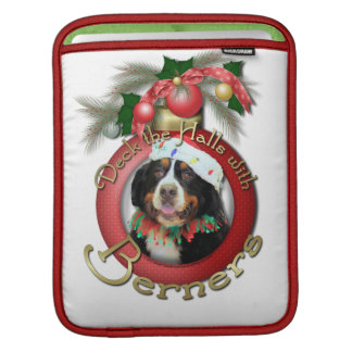 Christmas - Deck the Halls - Berners Sleeves For iPads
