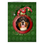 Christmas - Deck the Halls - Bernies Card