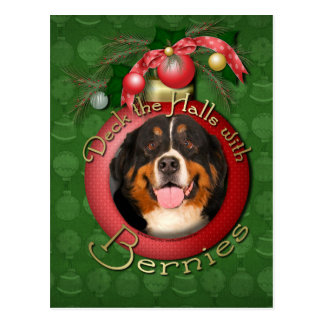 Christmas - Deck the Halls - Bernies Post Cards