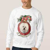 Christmas - Deck the Halls - Bichons Sweatshirt