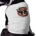Christmas - Deck the Halls - Bostons Dog Shirt
