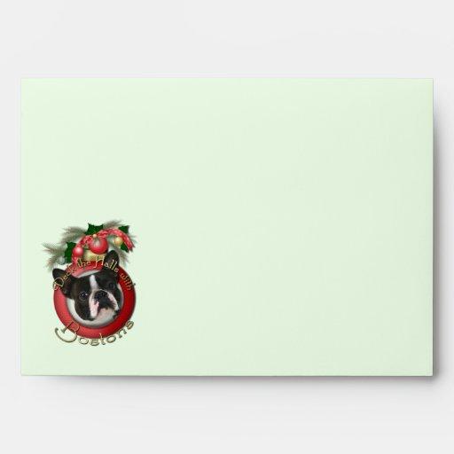 Christmas - Deck the Halls - Bostons Envelope