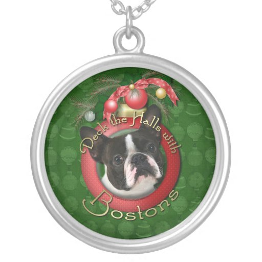 Christmas - Deck the Halls - Bostons Necklaces