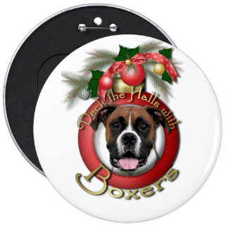 Christmas - Deck the Halls - Boxers - Vindy Pin