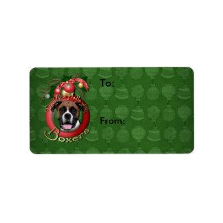 Christmas - Deck the Halls - Boxers - Vindy Label