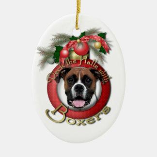 Christmas - Deck the Halls - Boxers - Vindy Ornaments