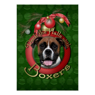 Christmas - Deck the Halls - Boxers - Vindy Posters