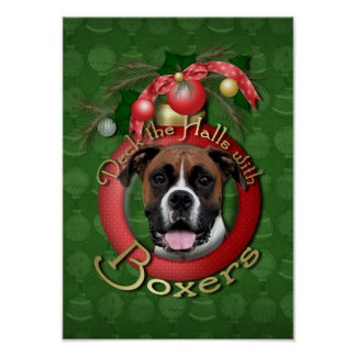 Christmas - Deck the Halls - Boxers - Vindy Print