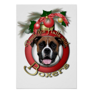 Christmas - Deck the Halls - Boxers - Vindy Poster