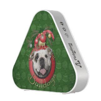 Christmas - Deck the Halls - Bulldogs Bluetooth Speaker