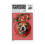 Christmas - Deck the Halls - Bulldogs Stamps