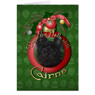 Christmas - Deck the Halls - Cairns - Rosco Cards