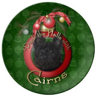 Christmas - Deck the Halls - Cairns - Rosco Porcelain Plate