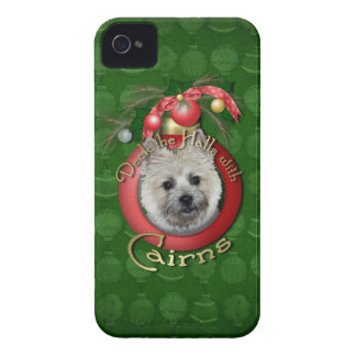 Christmas - Deck the Halls - Cairns - Teddy Bear Case-Mate iPhone 4 Cases