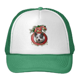 Christmas - Deck the Halls - Cattle Dogs Trucker Hat