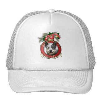 Christmas - Deck the Halls - Cattle Dogs Hat