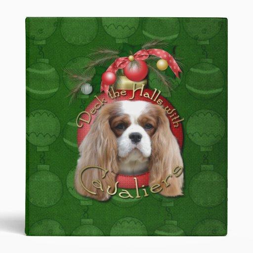 Christmas - Deck the Halls - Cavaliers - Blenheim Binders