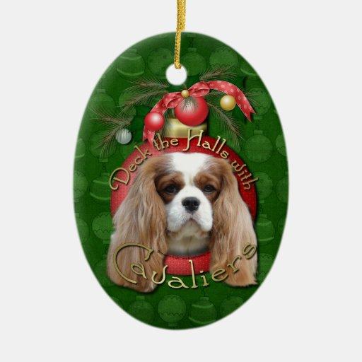 Christmas - Deck the Halls - Cavaliers - Blenheim Christmas Ornaments