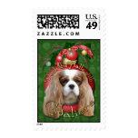Christmas - Deck the Halls - Cavaliers - Blenheim Postage Stamps