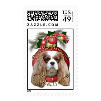 Christmas - Deck the Halls - Cavaliers - Blenheim Stamp