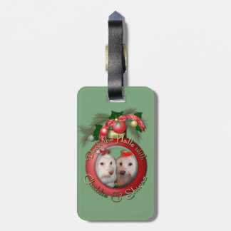 Christmas - Deck the Halls - Chablis & Shiraz Bag Tag