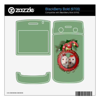 Christmas - Deck the Halls - Chablis & Shiraz BlackBerry Bold Decal
