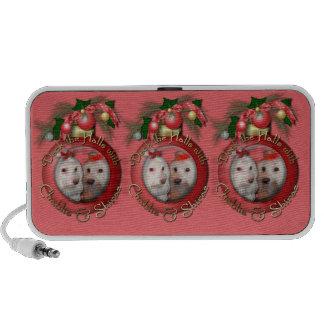 Christmas - Deck the Halls - Chablis & Shiraz Laptop Speaker