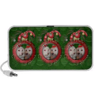 Christmas - Deck the Halls - Chablis & Shiraz Portable Speaker
