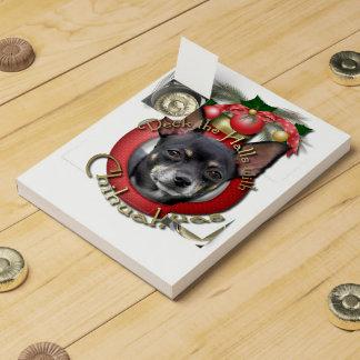 Christmas - Deck the Halls - Chihuahuas - Isabella Chocolate Countdown Calendars