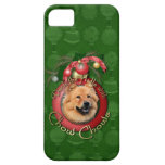 Christmas - Deck the Halls - Chows - Cinny iPhone 5 Cover