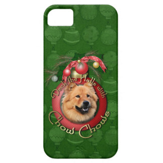 Christmas - Deck the Halls - Chows - Cinny iPhone SE/5/5s Case