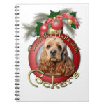 Christmas - Deck the Halls - Cockers Note Books