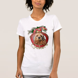 Christmas - Deck the Halls - Cockers T-Shirt