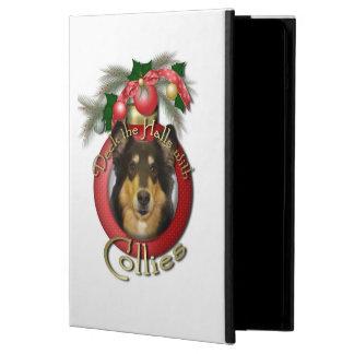 Christmas - Deck the Halls - Collie - Caroline iPad Air Cover