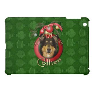 Christmas - Deck the Halls - Collie - Caroline iPad Mini Covers
