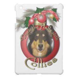 Christmas - Deck the Halls - Collie - Caroline iPad Mini Cover