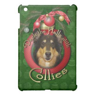Christmas - Deck the Halls - Collie - Caroline iPad Mini Cases