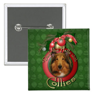 Christmas - Deck the Halls - Collie - Natalie Pins